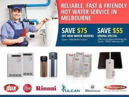 Same Day  Hot Water System Campbellfield