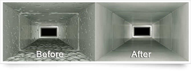 Why should it be necessary to have the air ducts cleaned