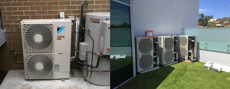 Heating & Cooling Installations Services