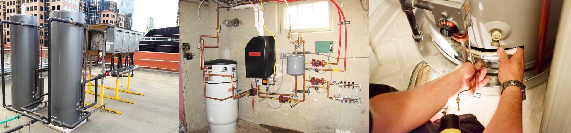 Hot Water Heating System Slider