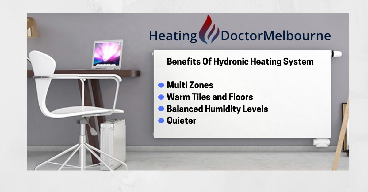 benefits of hydronic heating systems